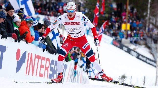 Finn Haagen Krogh vedas Norra edukalt võidule.