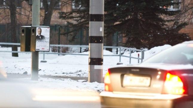 Liikluskaamera Kristiine ristmikul
