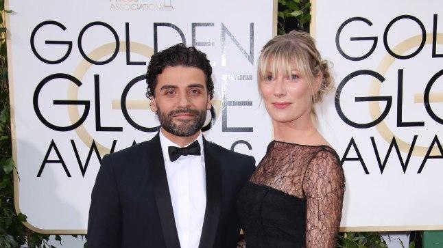 Oscar ja Elvira 2016. aasta Kuldgloobustel.