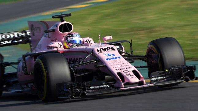 Sergio Perez Austraalia GP-l.