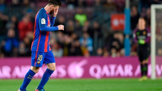 FC Barcelona mängija Lionel Messi