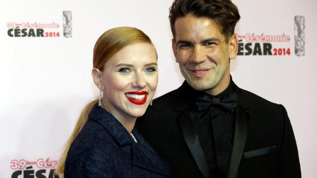 Scarlett Johansson ja Romain Dauriac