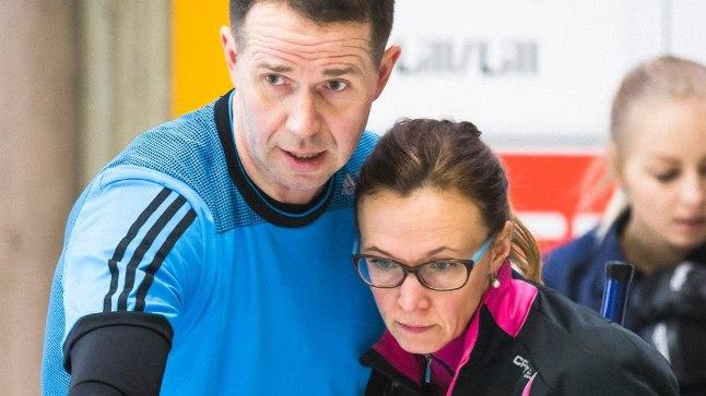 Kristiine ja Martin Lill kerkisid Riias Eesti parimaks paariks.