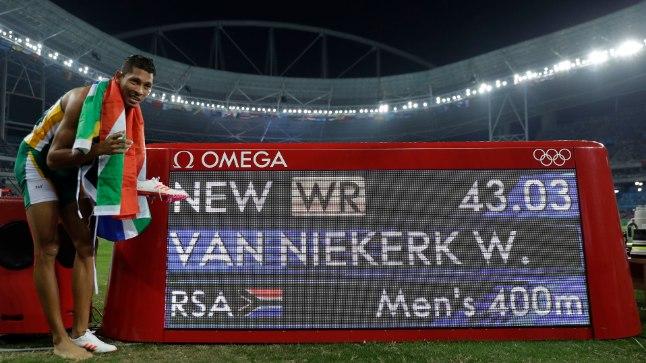 Wayde van Niekerk.