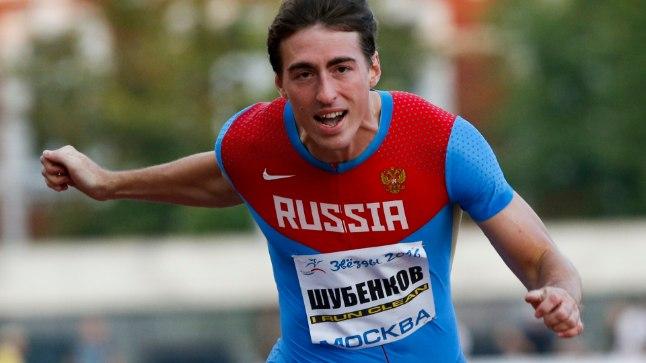 Valitsev 110 meetri tõkkejooksu maailmameister Sergei Šubenkov on nende Venemaa kergejõustiklaste seas, kellele avati uks rahvusvahelisele areenile, kus nad ei saa aga võistelda oma lipu all, vaid neutraalsete sportlastena.