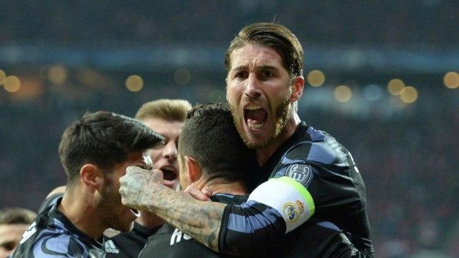 Madridi Real alistas võõrsil 2:1 Bayerni.