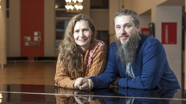 PÄRAST ESIETENDUST: Kleer ja ja Ingomar on olnud nii elus kui ka teatris 20 aastat partnerid, kuid abielupaari mängivad nad esimest korda.