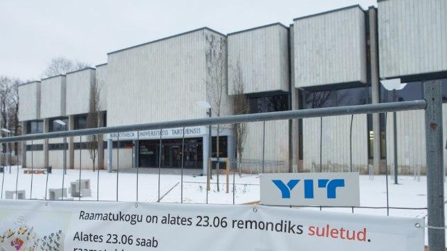 Tartu ülikooli raamatukogu pidi taasavatama mullu 30. novembril, praegu oleks juba suur saavutus see, kui raamatukogu avaks uksed aasta lõpus.