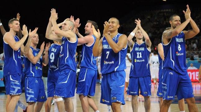 Soome korvpallikoondis.