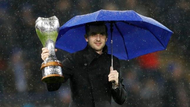 Mark Selby eelmisel aastal võidetud maailmameistritiitliga.