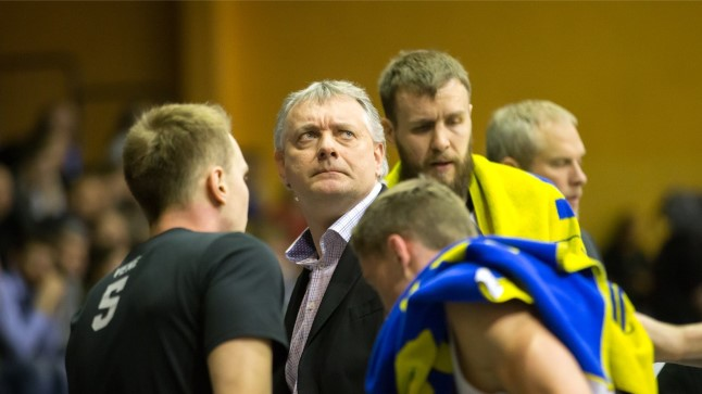 Tartu peatreener Gert Kullamäe