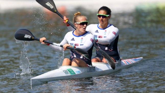 Brittide kahepaat Rio olümpial.