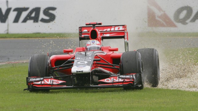 Timo Glock esindas F1 sarjas Jordani, Toyota, Virgini ja Marussia meeskondi.