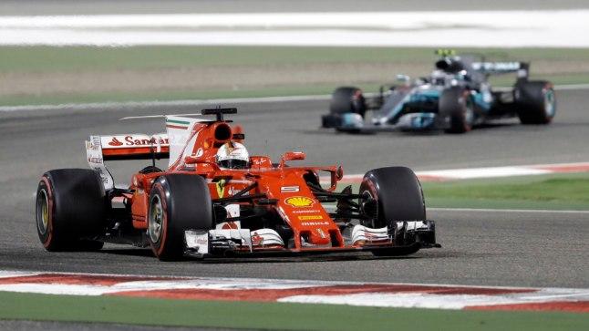 Sebastian Vettel Bahreini GP-l