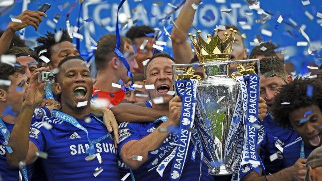 Kas John Terry viimaseks liigutuseks Chelsea kaptenina saab viiendat korda Inglismaa kõrgliiga karika pea kohale kergitamine?