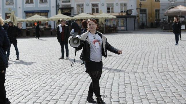 Tallinna tudengipäevade kassikujutis 17. aprillil 2017.
