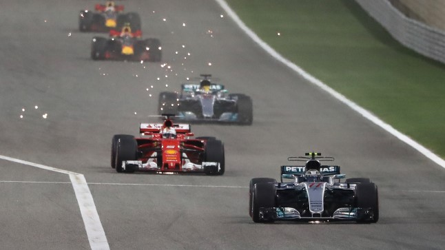 Sädemeid lendab: sama särtsakas oli kogu Bahreini GP.