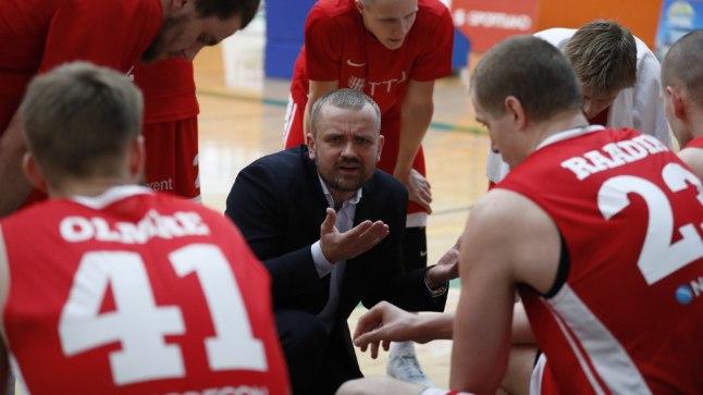 TTÜ peatreeneri Rait Käbini tänane päev polnud rõõmus.