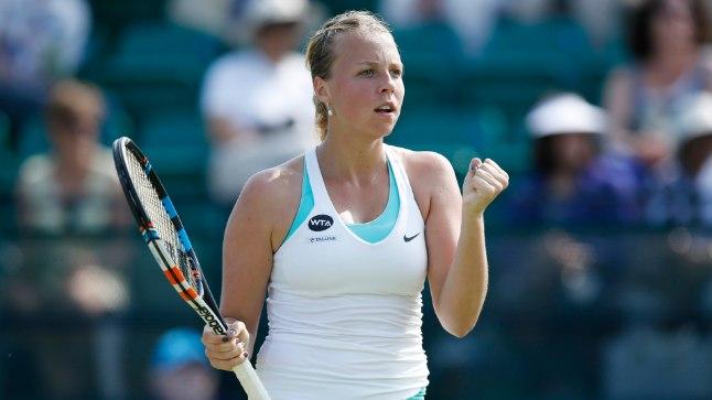 RAHUL: Pildimeenutus eelmise aasta WTA turniirilt Nottinghamis, kus Anett Kontaveit jõudis veerandfinaali ja teenis edetabelisse parajalt punktilisa.