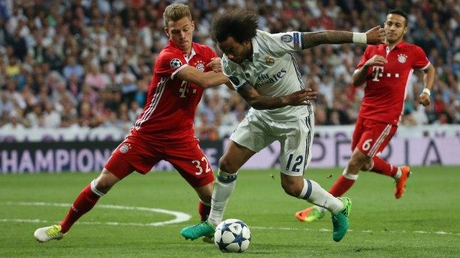 Madridi Real vs Müncheni Bayern
