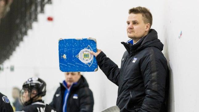 Eesti jäähokikoondise peatreener Jussi Tupamäki.