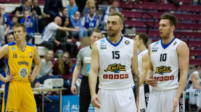 Vitali Ljutõtš (paremal) viskas Kalevi kasuks 15, Timo Eichfuss 11 punkti.