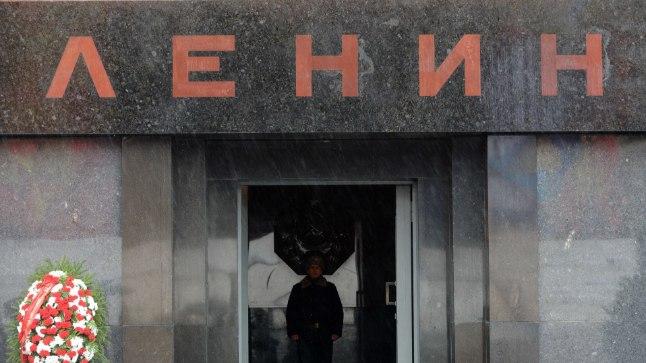 Мавзолей В. И. Ленина — памятник-усыпальница на Красной площади у Кремлёвской стены в Москве, где с 1924 года покоится тело Владимира Ильича Ленина.