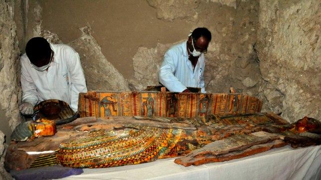 Erakordne leid Egiptuses