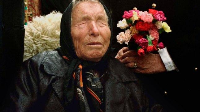 Selgeltnägija Vangelia Pandeva Dimitrova ehk Vanga