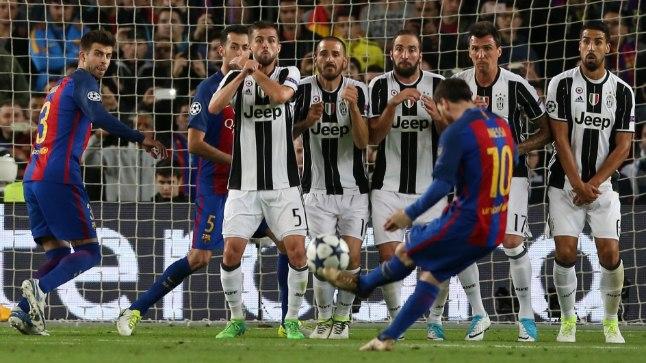 KINDEL MÜÜR: Lionel Messi ja FC Barcelona ei suutnud Torino Juventusele 180 minuti jooksul lüüa ainsatki väravat ja jäid teist hooaega järjest Meistrite liigas poolfinaalist kõrvale.