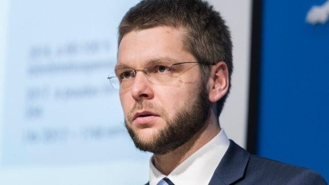 Tervise- ja tööminister Jevgeni Ossinovski