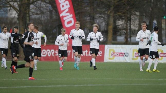Brent Lepistu väravast alistas FC Flora 1:0 FC Infoneti.