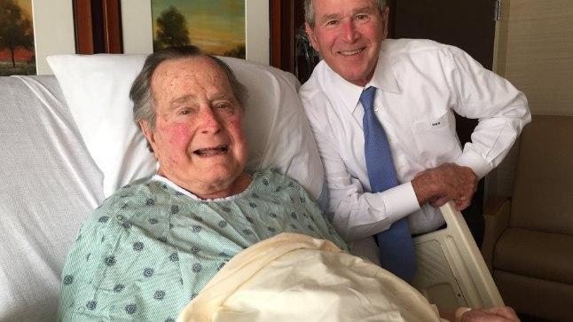 Arst: George Bush seenior põeb kroonilist bronhiiti