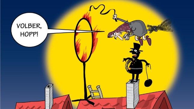 Karikatuur   Volber
