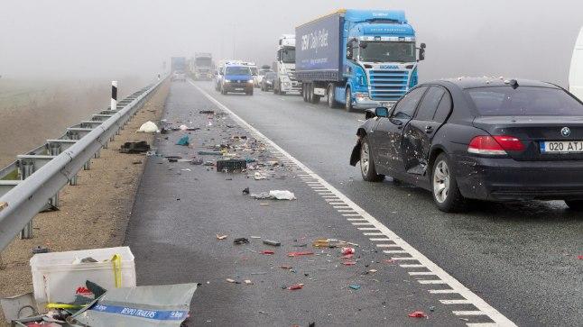 TALLINNA RINGTEEL: Arvukad avariid tõid kaasa ummikud
