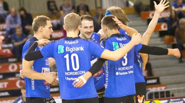 Rõõmustavad Tartu võrkpallurid