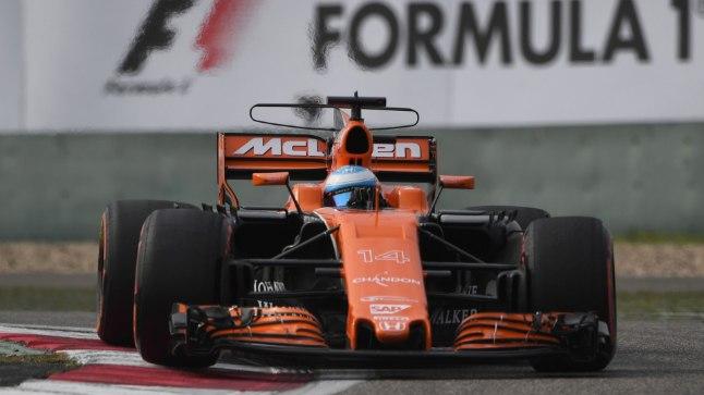 Fernando Alonso Hiina GP kvalifikatsioonis