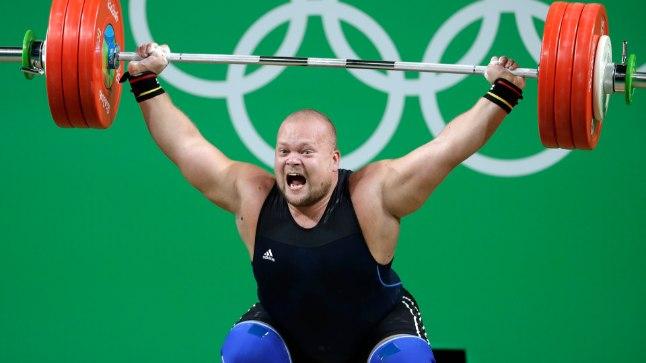 Mart Seim Rio olümpial.