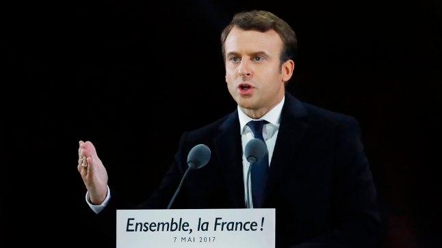 Prantsuse presidendivalimised võitis Emmanuel Macron