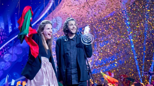VÕITJA: Salvador Sobral tõi tänavuse Eurovisioni võidu Portugalile. Riik on võistlusel osalenud 48 korda ja lõpuks tuli ka võit.