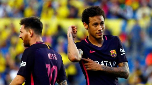 Neymar tatoveeriso oma käele ema pildi.