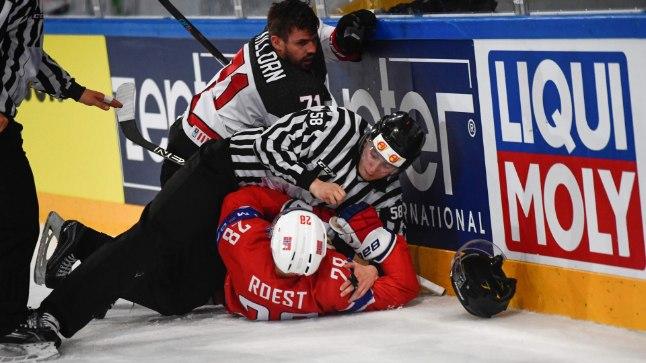 Kanada ja Norra kohtumises läks vaatamata ühepoolsele mängule korralikuks andmiseks.