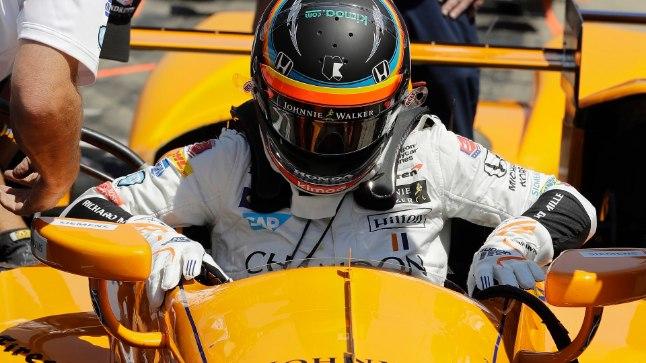 Fernando Alonso IndyCari roolis