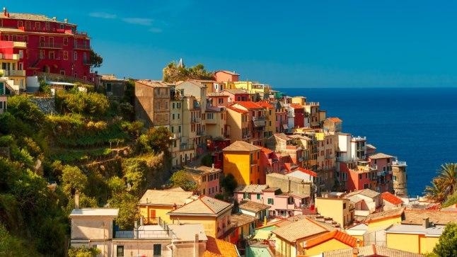 Cinque Terre. Pildil ei ole Bormida.