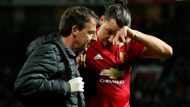 Manchester Unitedi ründetäkk Zlatan Ibrahimović.
