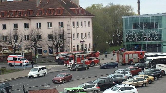 Pärnu toitlustuskohas süttis 17. mail põlema fritüüriõli.