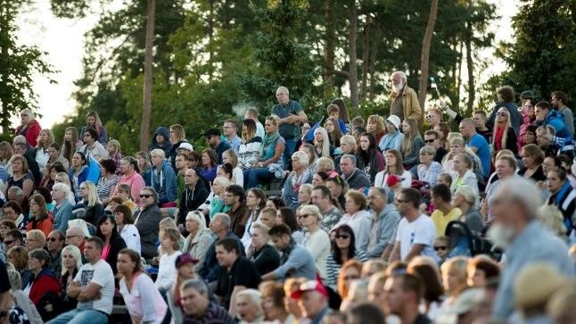 KEILA ARMASTAB VABADUST: Enamik rahvaküsitlusel osalenud Keila elanikke oli sundliitmise vastu. Fotol Keila lauluväljakul 2016. aastal taasiseseisvumispäeval toimunud kontsert «Vaba rahva laul».