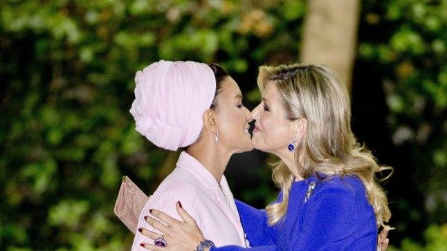 Kuninganna Maxima ja Moza bint Nasser