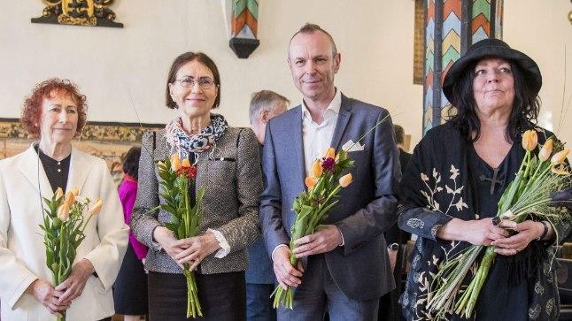 LAUREAADID: Tänavu tunnustati Kristjan Raua preemiaga Tiiu Pallo-Vaiku, Mare Mikoffi, Harry Liivranda ja Kadri Mälku.