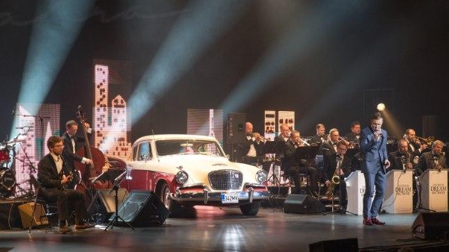 Ott Leplandi Frank Sinatra lugude kontsert Nordea kontserdimajas 19. mail 2017.